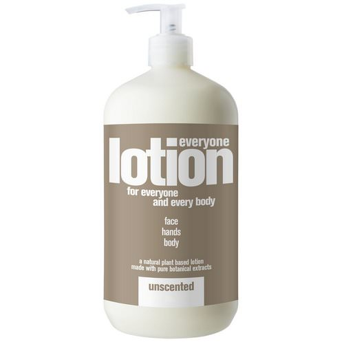 EO Products, Everyone Lotion for Everyone and Everybody, Unscented, 32 fl oz (960 ml) Review