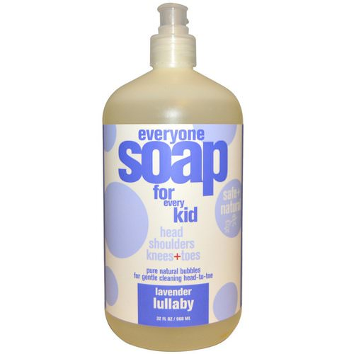 EO Products, Everyone Soap for Every Kid, Lavender Lullaby, 32 fl oz (960 ml) Review