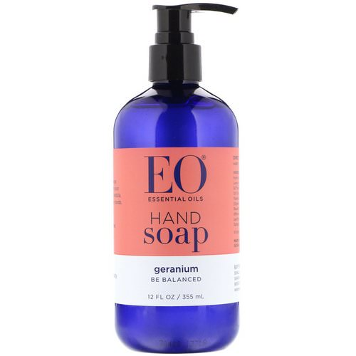 EO Products, Hand Soap, Geranium, 12 fl oz (355 ml) Review