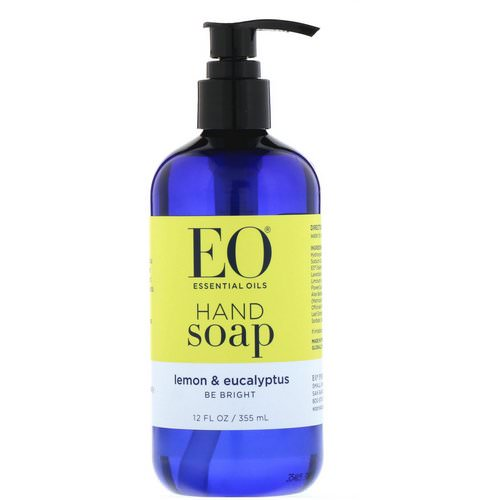 EO Products, Hand Soap, Lemon & Eucalyptus, 12 fl oz (355 ml) Review