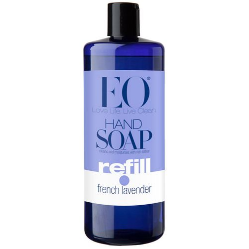EO Products, Hand Soap, Refill, French Lavender, 32 fl oz (946 ml) Review