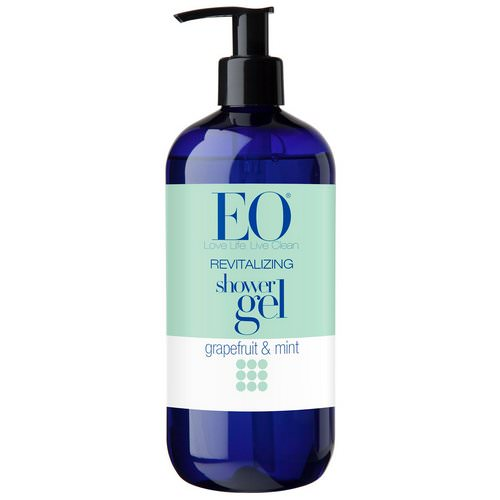 EO Products, Shower Gel, Revitalizing, Grapefruit & Mint, 16 fl oz (473 ml) Review