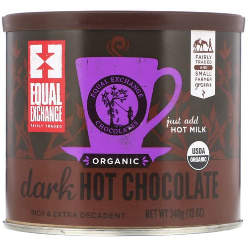Equal Exchange, Organic Dark Hot Chocolate, 12 oz (340 g) Review