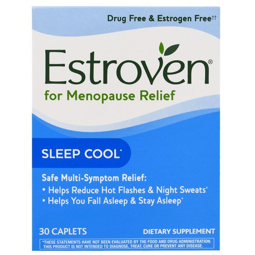 Estroven, Menopause Relief, Sleep Cool, 30 Caplets Review