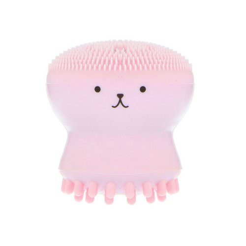 Etude House, My Beauty Tool, Exfoliating Jellyfish Silicon Brush, 1 Brush Review