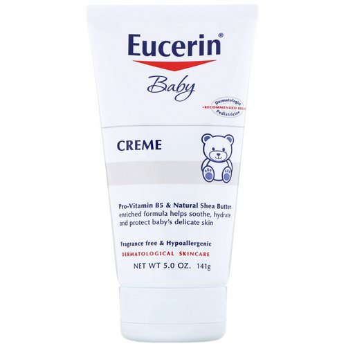 Eucerin, Baby, Creme, 5 oz (141 g) Review