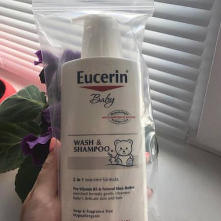 Eucerin All-in-One Baby Shampoo Body Wash Baby Body Wash Shower Gel