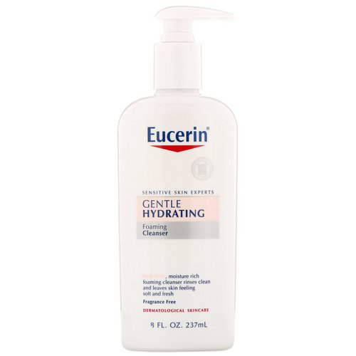 Eucerin, Gentle Hydrating Cleanser, Fragrance Free, 8 fl oz (237 ml) Review