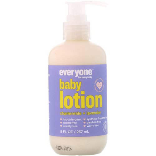 Everyone, Baby Lotion, Chamomile + Lavender, 8 fl oz (237 ml) Review
