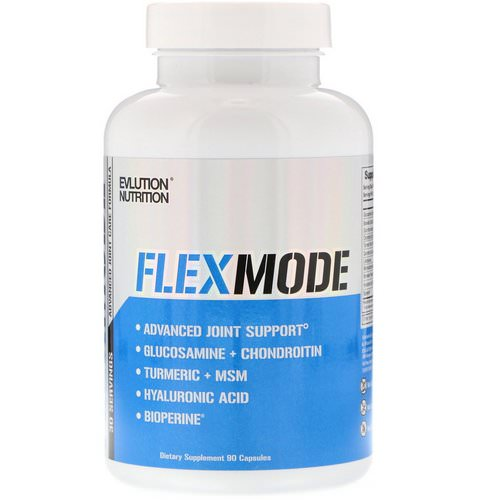 EVLution Nutrition, FlexMode, Advanced Joint Support Formula, 90 Capsules Review