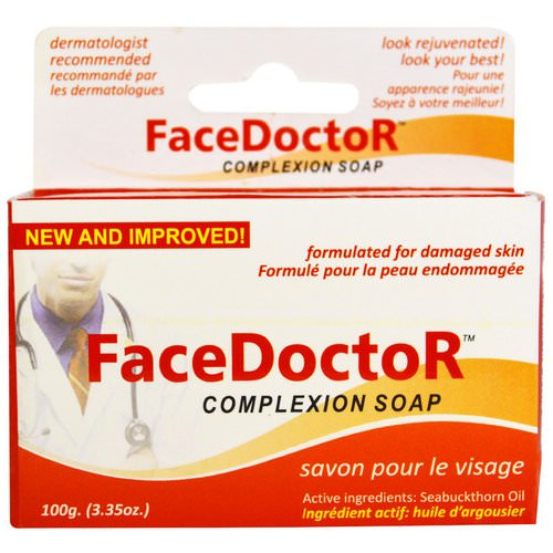 Face Doctor, FaceDoctor Complexion Soap, 3.35 oz (100 g) Review