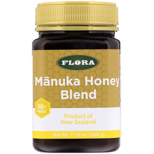 Flora, Manuka Honey Blend, MGO 30+, 17.6 oz (500 g) Review