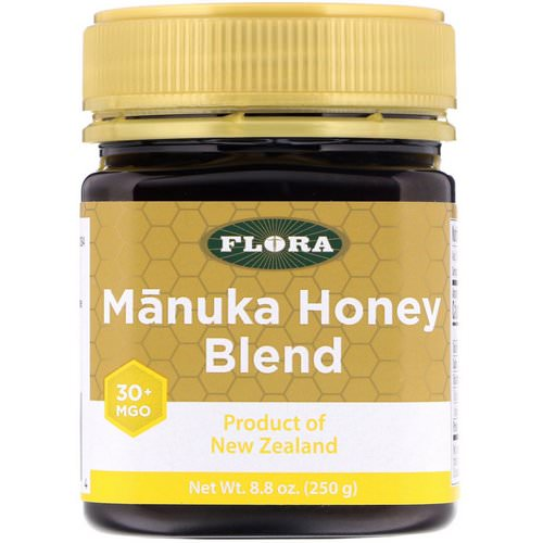 Flora, Manuka Honey Blend, MGO 30+, 8.8 oz (250 g) Review