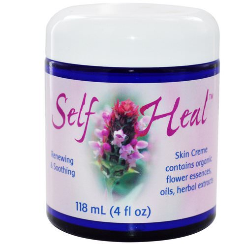 Flower Essence Services, Self Heal Skin Cream, 4 fl oz (118 ml) Review