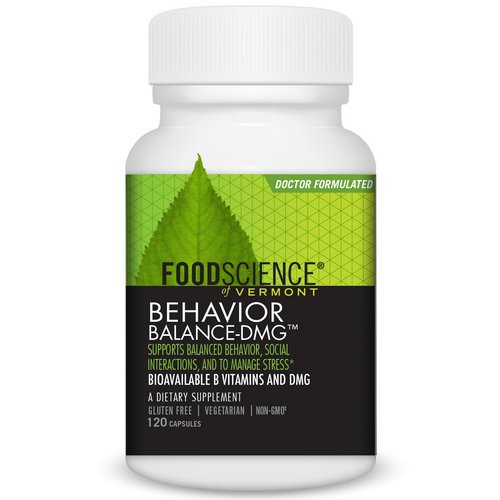 FoodScience, Behavior Balance-DMG, 120 Capsules Review