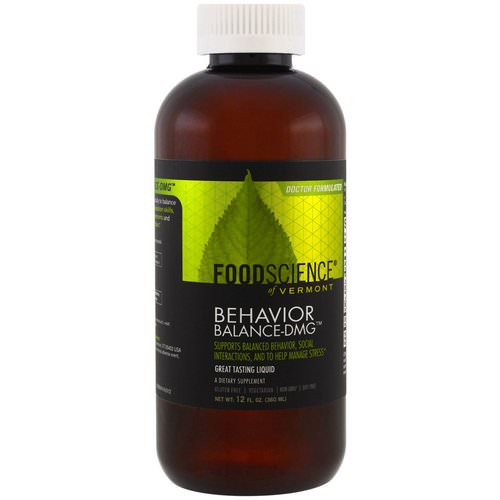 FoodScience, Behavior Balance-DMG Liquid, 12 fl oz (360 ml) Review