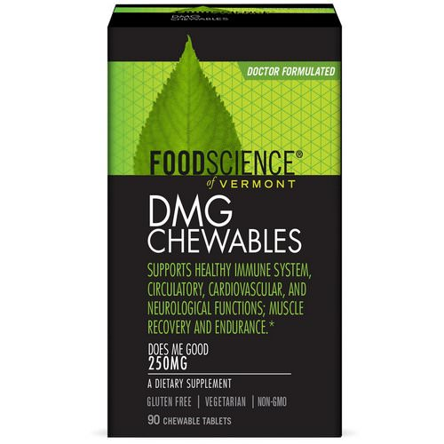 FoodScience, DMG Chewables, 250 mg, 90 Chewable Tablets Review