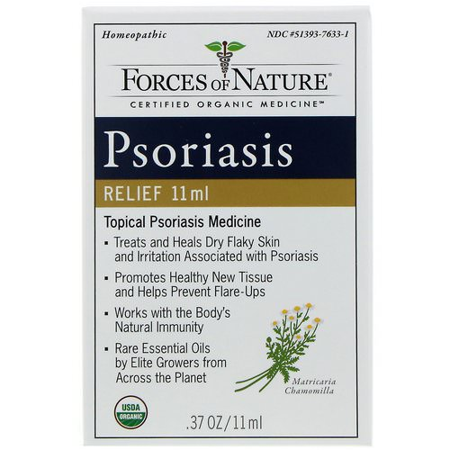 Forces of Nature, Psoriasis Relief, 0.37 oz (11 ml) Review