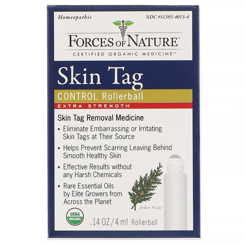 Forces of Nature, Skin Tag Control, Extra Strength, Rollerball, 0.14 oz (4 ml) Review
