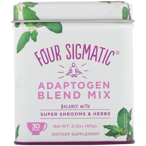 Four Sigmatic, Adaptogen Blend Mix, Balance with Super Shrooms & Herbs, 2.12 oz (60 g) Review