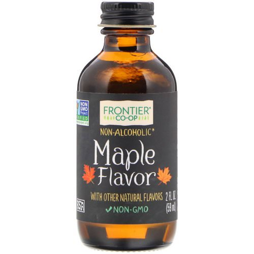 Frontier Natural Products, Maple Flavor, Non-Alcoholic, 2 fl oz (59 ml) Review