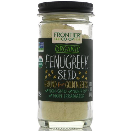 Frontier Natural Products, Organic Fenugreek Seed, Ground, 2.00 oz (56 g) Review