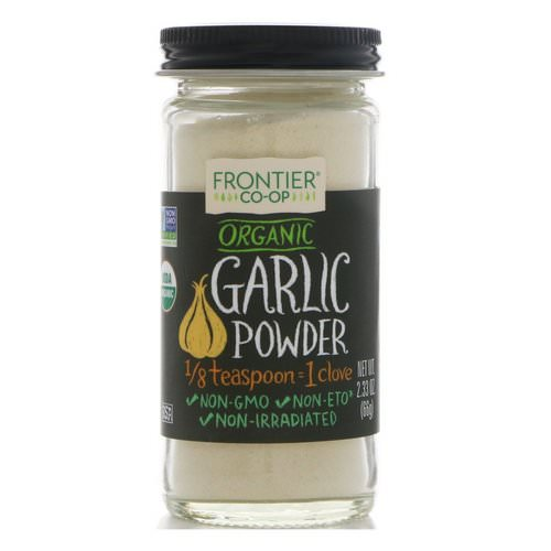Frontier Natural Products, Organic Garlic Powder, 2.33 oz (66 g) Review