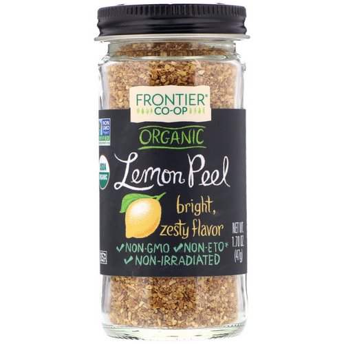 Frontier Natural Products, Organic Lemon Peel, Granules, 1.70 oz (47 g) Review
