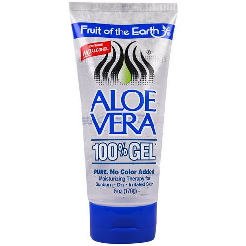 Fruit of the Earth, Aloe Vera 100% Gel, 6 oz (170 g) Review
