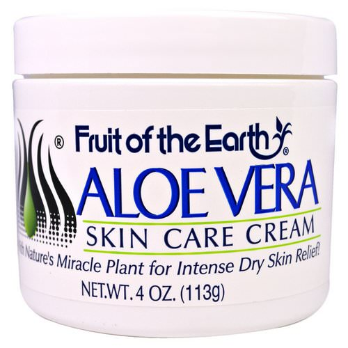 Fruit of the Earth, Aloe Vera Skin Care Cream, 4 oz (113 g) Review