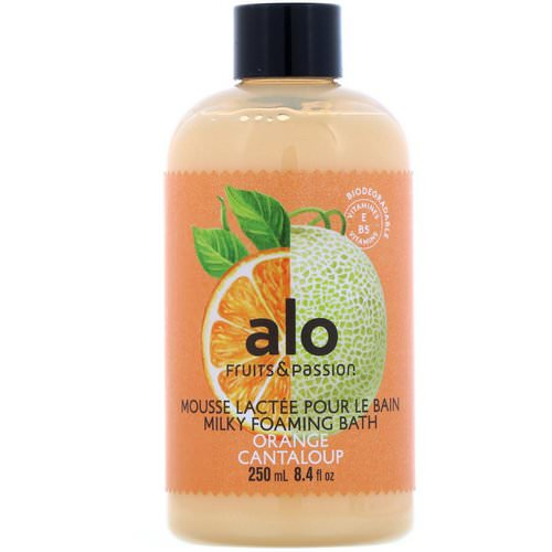 Fruits & Passion, ALO, Milky Foaming Bath, Orange Cantaloup, 8.4 fl oz (250 ml) Review