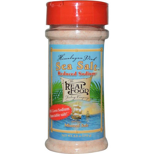 FunFresh Foods, The Real Food, Himalayan Pink Sea Salt, Reduced Sodium, 8.8 oz (250 g) Review