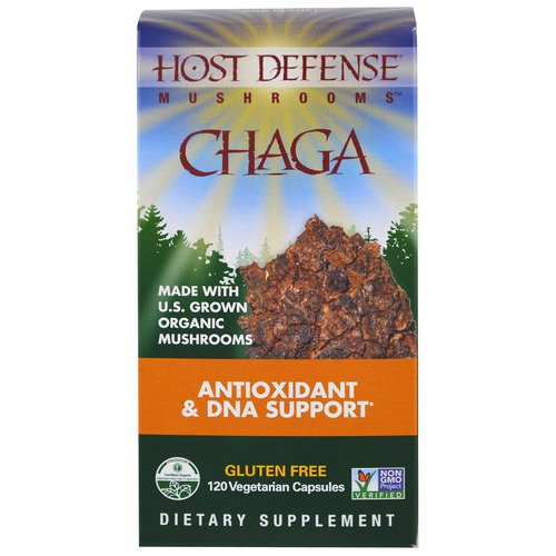Fungi Perfecti, Chaga, 120 Vegetarian Capsules Review