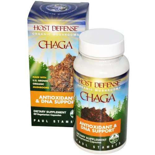 Fungi Perfecti, Chaga, 60 Veggie Caps Review