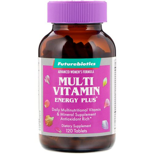 FutureBiotics, Advanced Woman's Formula, Multi Vitamin Energy Plus, 120 Tablets Review