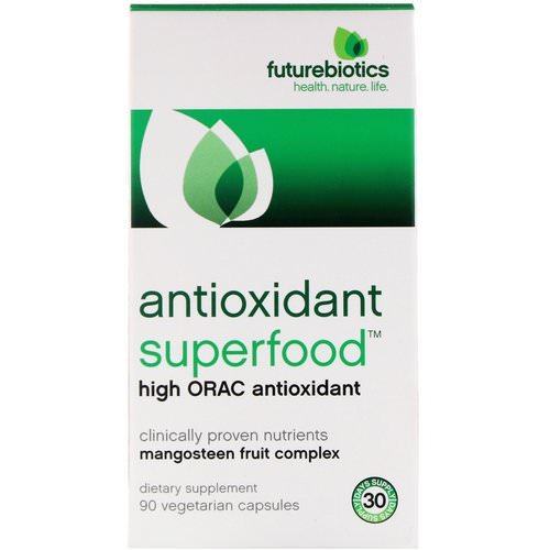 FutureBiotics, Antioxidant Superfood, High ORAC Antioxidant, 90 Vegetarian Capsules Review
