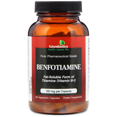 FutureBiotics, Benfotiamine, 150 mg, 120 Vegetarian Capsules Review