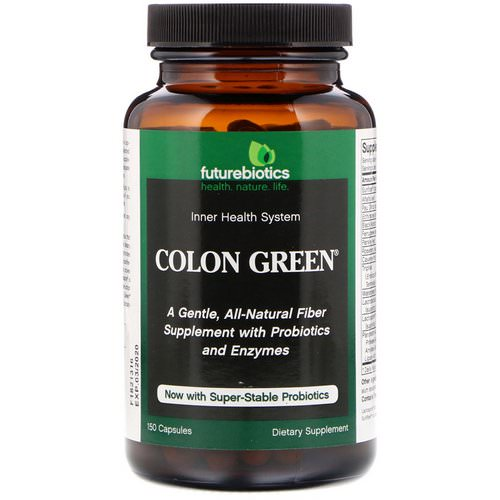 FutureBiotics, Colon Green, 150 Capsules Review