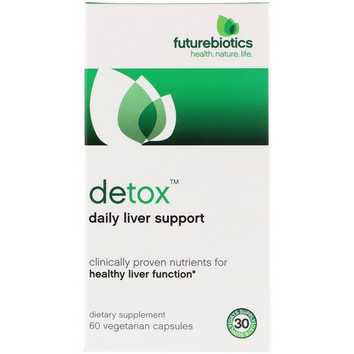 FutureBiotics, Detox, Daily Liver Support, 60 Vegetarian Capsules Review
