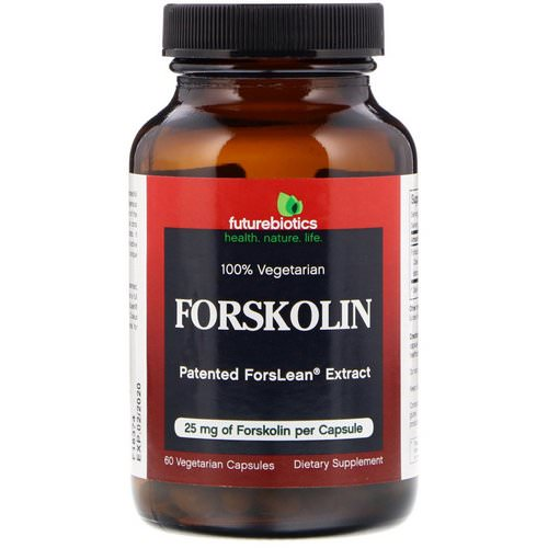 FutureBiotics, Forskolin, 25 mg, 60 Vegetarian Capsules Review
