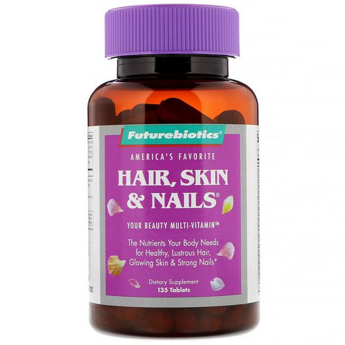 FutureBiotics, Hair, Skin & Nails, 135 Tablets Review