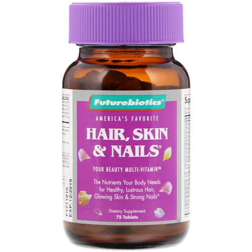 FutureBiotics, Hair, Skin & Nails, 75 Tablets Review