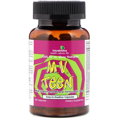 FutureBiotics, M.V. Teen, 180 Capsules Review
