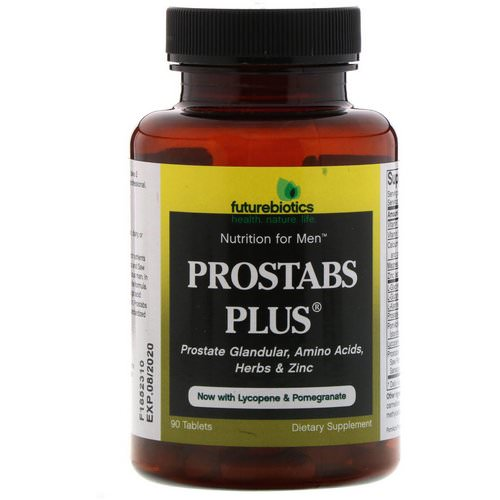 FutureBiotics, Prostabs Plus, 90 Tablets Review
