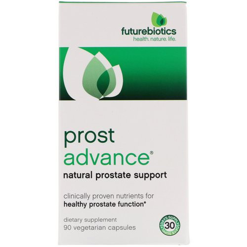 FutureBiotics, ProstAdvance, Natural Prostate Support, 90 Vegetarian Capsules Review