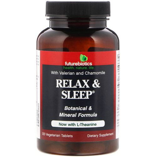 FutureBiotics, Relax & Sleep, 120 Vegetarian Tablets Review