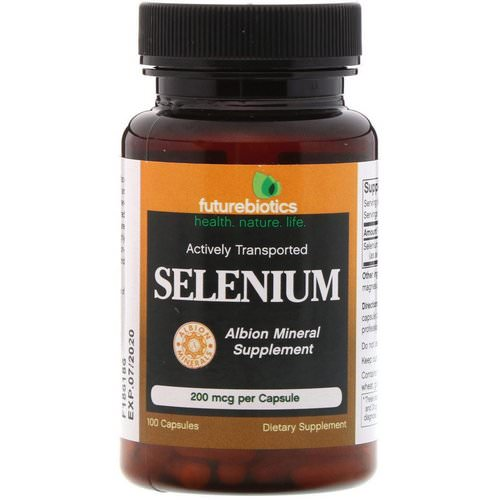 FutureBiotics, Selenium, 200 mcg, 100 Capsules Review