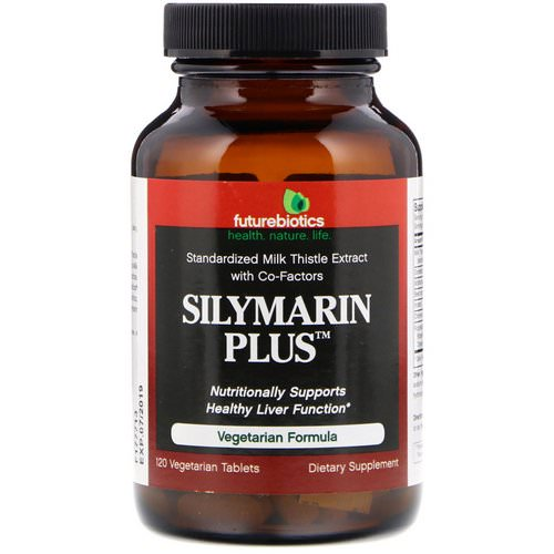 FutureBiotics, Silymarin Plus, 120 Vegetarian Tablets Review