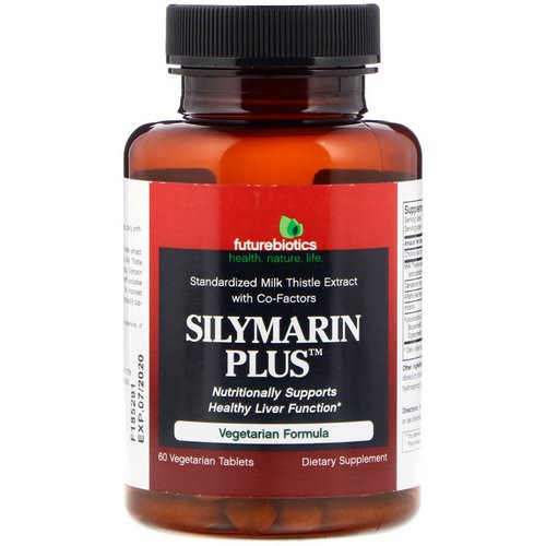 FutureBiotics, Silymarin Plus, 60 Vegetarian Tablets Review