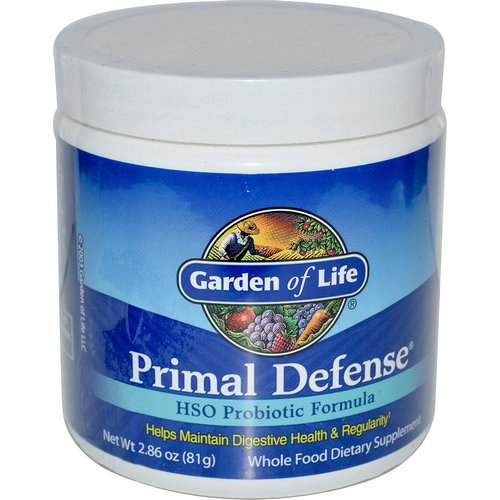 Garden of Life, Primal Defense, Powder, HSO Probiotic Formula, 2.86 (81 g) Review